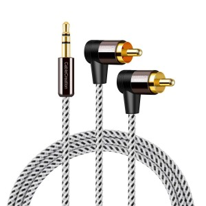 3.5mm to RCA Cable 6 Feet/1.8 Meters, #CC0825