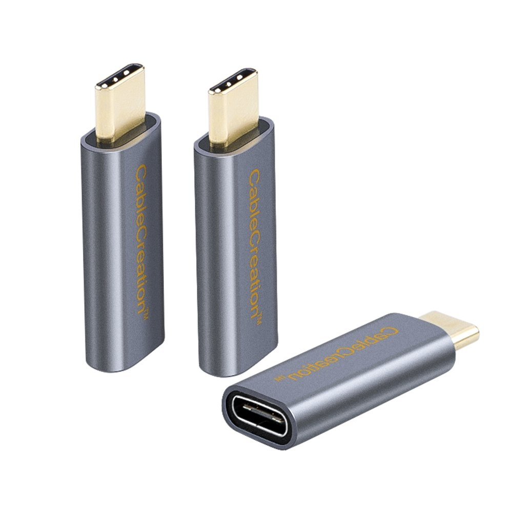 China New Product Usb C Male To Usb C Female Adapter - USB C Extension Adapter [3-Pack], #CC0839 – CableCreation