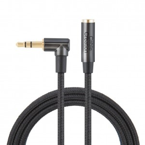 Super Purchasing for Vga To Dp Cable – 3.5mm Headphone Extension Cable 3Feet/0.9Meters, #CC0875 – CableCreation