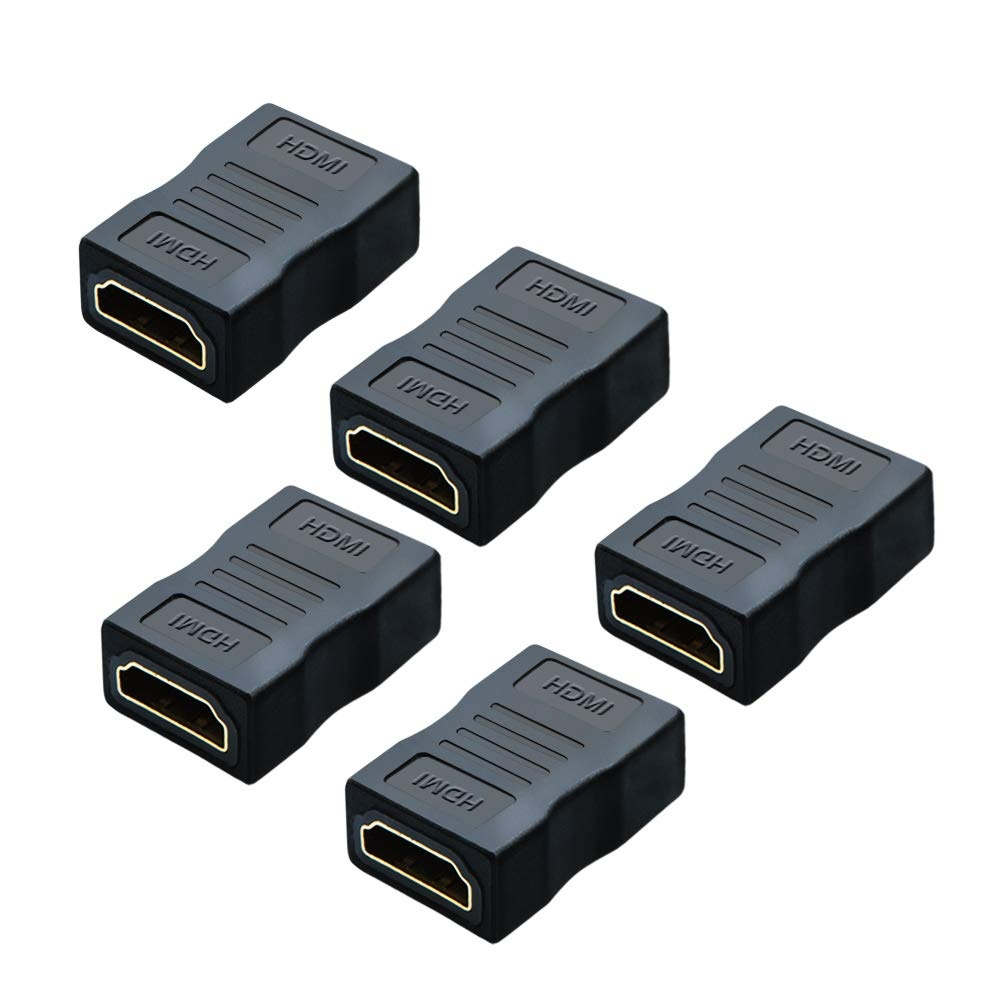 HDMI Female to Female Adapter 5-Pack, #CC0930