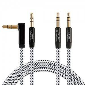 3.5mm Aux Cable 6Feet/1.8Meters, 2Pack, #CC0935