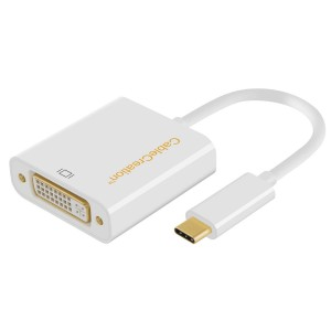 USB-C to DVI Adapter, # CD0002