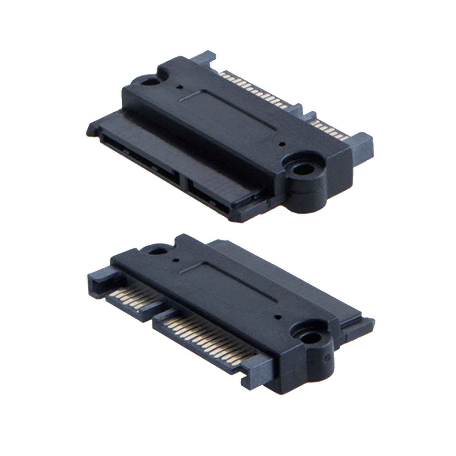 Hot sale Sff-8088 To Sff-8087 Cable - 2-Pack Sata Male-Female Adapter, #CD0237-2 – CableCreation