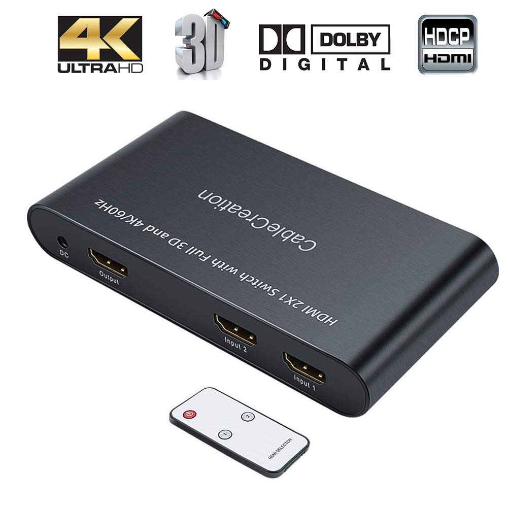 HDMI Switch 4K 2 Ports, #CD0535