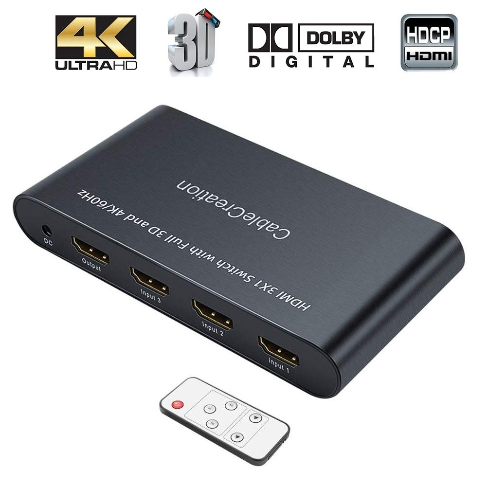 HDMI Switch 4K 3 Ports, #CD0536