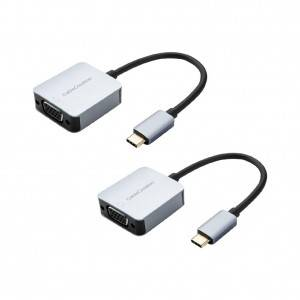 USB C to VGA Adapter, 2Pack, #CD0595-2