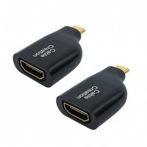 USB C to HDMI Mini Adapter, 2 Pack, #CD0614-2