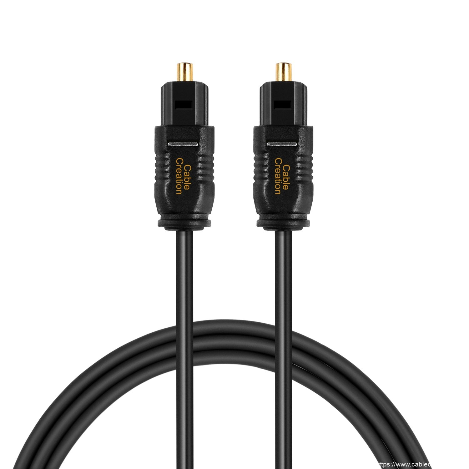 China Manufacturer for 3.5mm To 2rca Audio Auxiliary Stereo - Optical Digital Audio Cable 3 Feet/0.9 Meter, #CF0023 – CableCreation