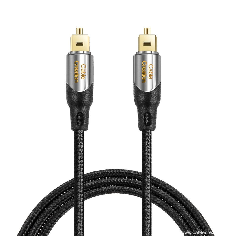factory Outlets for Rca To 3.5mm Cable - Digital Optical Audio Cable 6 Feet/1.8 Meters, #CF0055 – CableCreation