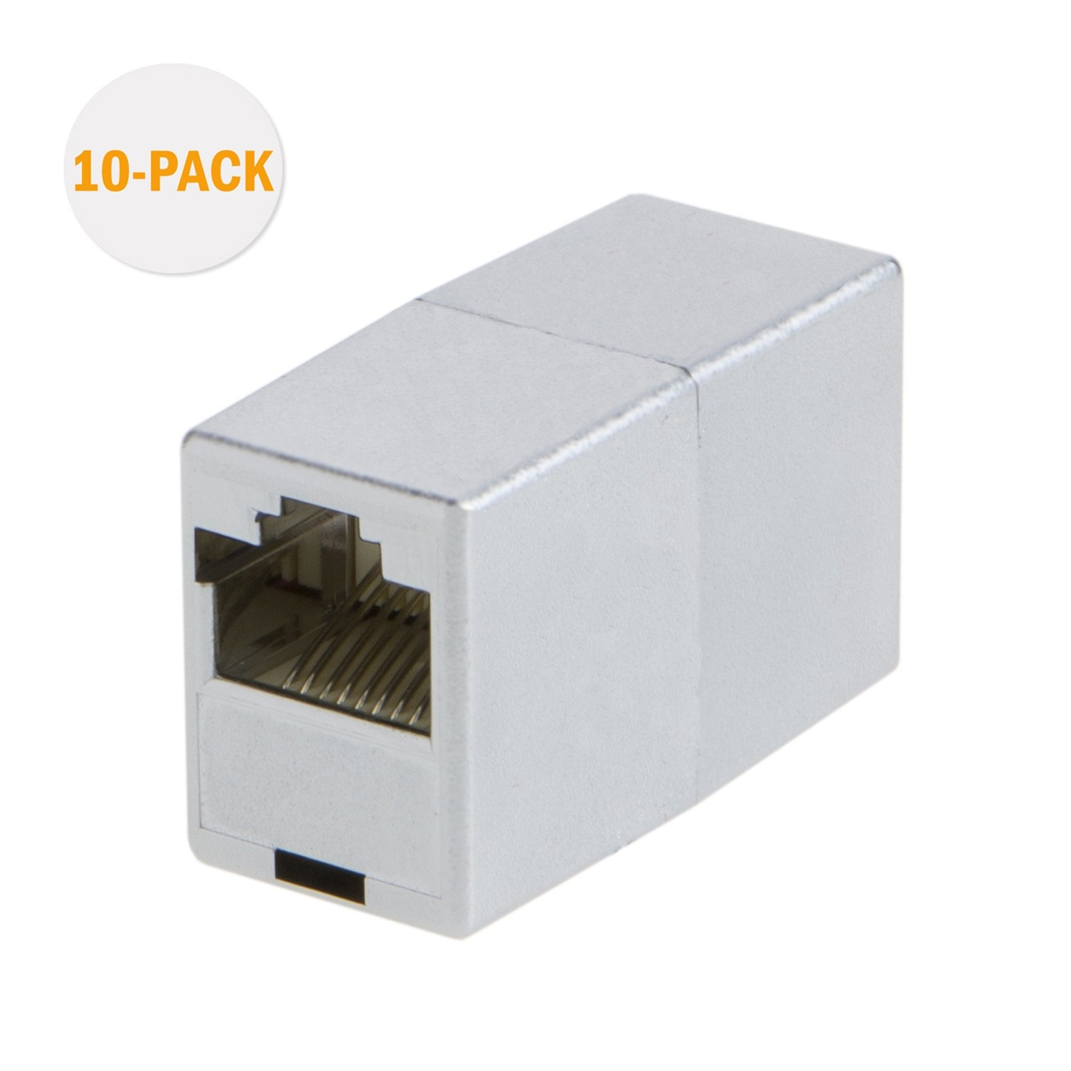 Fast delivery Rj45 Network Plug For 24 To 26 Awg - RJ45 Coupler(10-Pack), #CL0065 – CableCreation