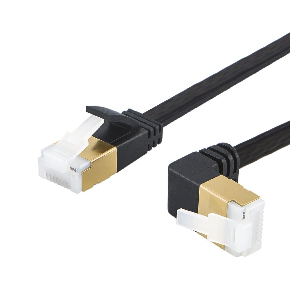 Factory wholesale Flat Cat7 Network Cable - Cat7 Flat Ethernet Cable 6.6 Feet/2 Meters, #CL0303 – CableCreation