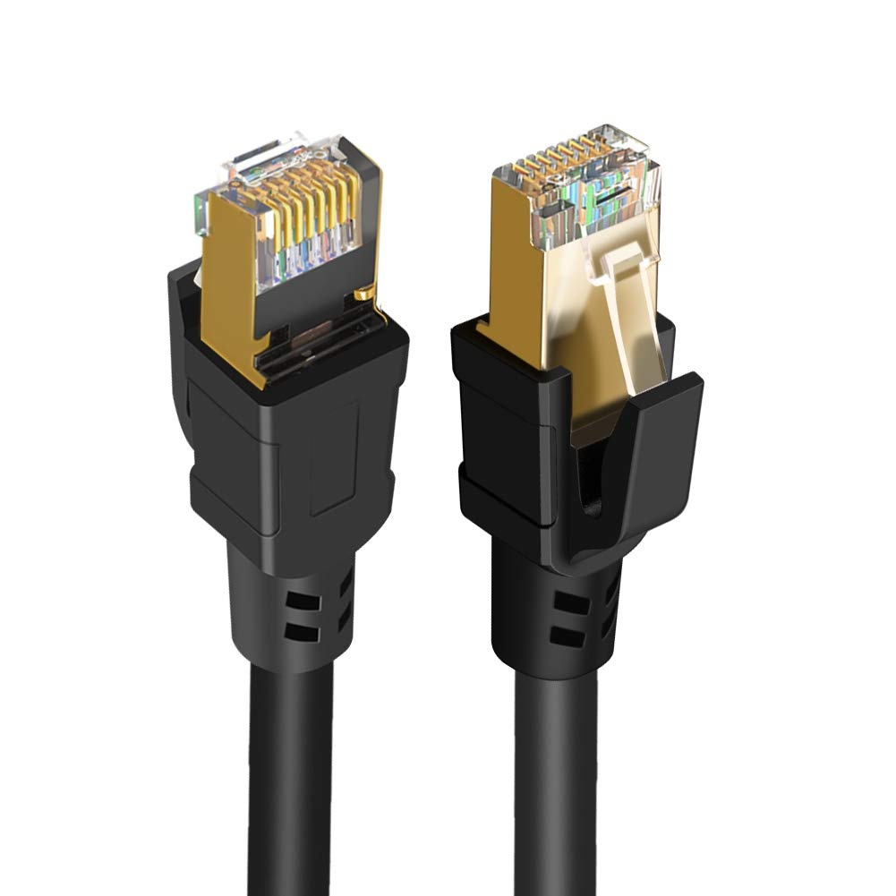 Factory wholesale Flat Cat7 Network Cable - Cat 8 Ethernet Cable 39.6ft, #CL0323 – CableCreation