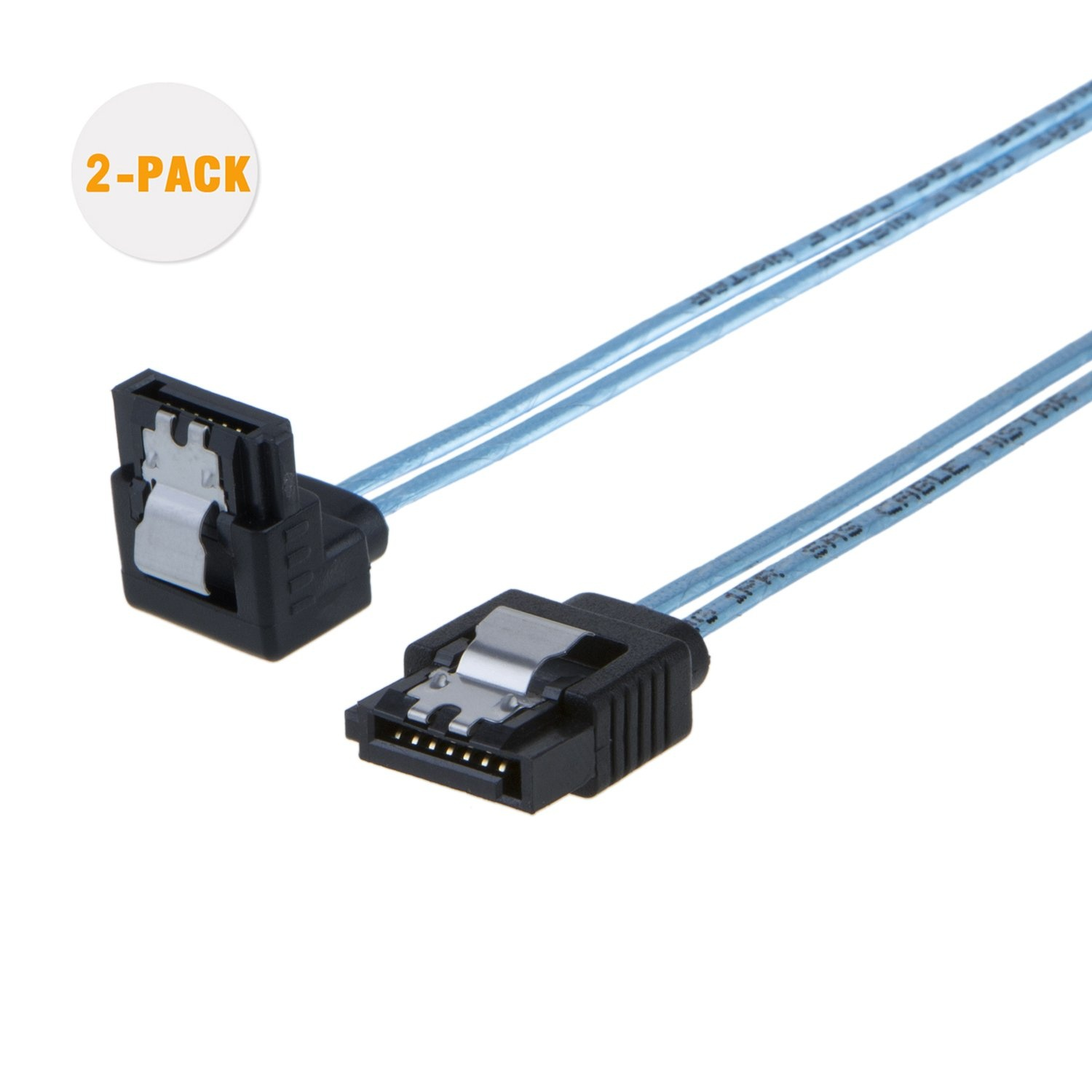 High Quality Sata Cable -  [5-Pack] SATA III Cable 1.5 Feet/0.45 Meters Blue, #CS0062 – CableCreation