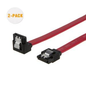 SATA III Cable 1.5Feet / 0.45Meter, [2-Pack], # CS0079