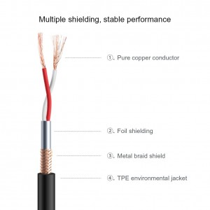 Stereo Male to XLR Male Cable,Black CableCreation 3 Feet 3.5mm 1//8 Inch
