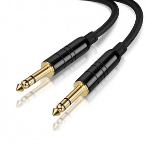 6.35mm to 6.35mm Stereo Audio Cable 10 Feet/3 Meters, #CX0080