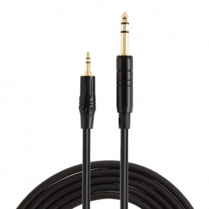 3.5mm to 6.35mm Audio Cable 3Feet/1 Meter, #CX0084