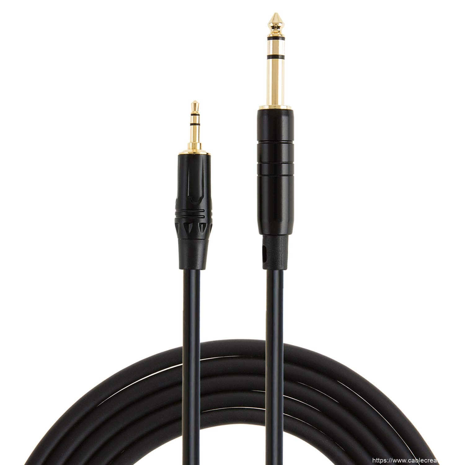 One of Hottest for Dvi To Dp Cable - 3.5mm to 6.35mm Audio Cable 16 Feet/5 Meters, #CX0087 – CableCreation