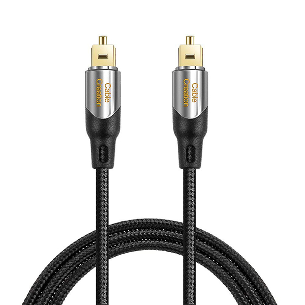 Factory wholesale Hdmi To Displayport - Digital Optical Audio Cable,#CF0057 – CableCreation