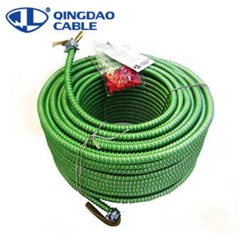 Factory supplied Textile Wrapped Cable - MC Cable-Hospital Care Facility(HCF) Copper/Cu THHN Insulated Conductors Green Insulated Ground Conductor – Cable