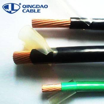 Cheapest Price 0.75mm Control Cable - PVC Insulated Electrical Cables THHN wire electrical stranded copper conductor PVC insulation and nylon sheath – Cable