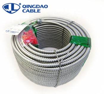 OEM/ODM Factory Rated Voltage 450/750 Electrical Control Cables And Wires - MC cable types of armored cable Copper/Cu conductors THHN/THWN insulation/insulated Aluminum/Al armored power/lighting/control – Cable detail pictures