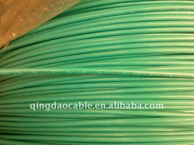 Type THHN/THMN/THWN-2 copper conductor thermoplastic insulation/nylon sheath Heat/Moisture/Oil/Gasoline/sunlight resistant
