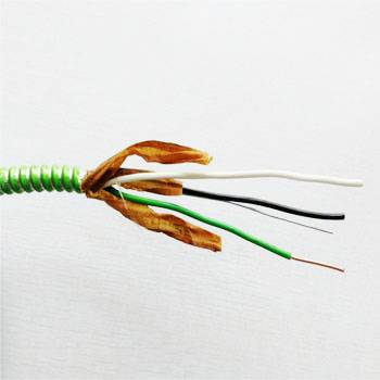 Online Exporter Heat Resistant Electric Wire 1mm - Type MC Cable-Hospital Care Facility(HCF) Copper/Cu THHN Insulated Conductors Green Insulated Ground Conductor – Cable detail pictures