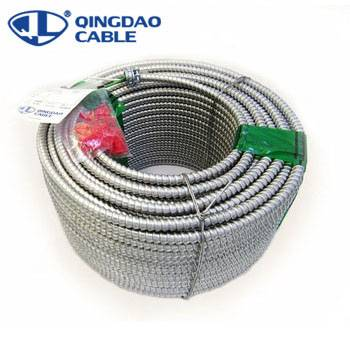 Factory selling Fire Resistant Cable - 600V Cu/Conner/Al Conductor ALuminum armor/thhn/thwn-2 MC cable PVC/Nylon Insulated MC cable with PVC sheathed – Cable Featured Image