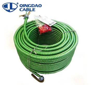 OEM Supply Armored Cable Underground Power Cable Wire - MC cable electrical wire stranded types of armored cable Copper conductors THHN/THWN insulation Aluminum armored – Cable
