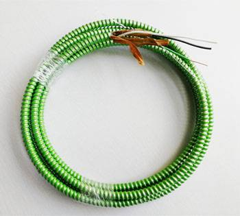 Factory Price 0.12mm Heat Resistant Wire - MC Cable-Hospital Care Facility(HCF) Copper/Cu THHN Insulated Conductors Green Insulated Ground Conductor – Cable