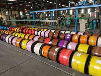 2017 Latest Design Automatic Expansion Cable - Electrical wire manufacturing plant TC instrument/power/control cable copper conductors PVC with Nylon Insulation PVC jacket – Cable detail pictures