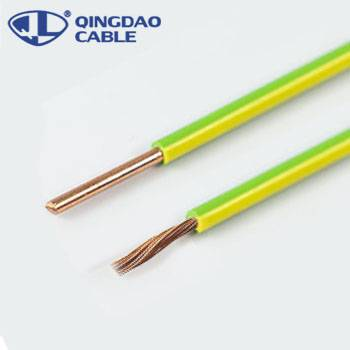 Wholesale Price Where To Buy Fiber Optic Cable - PVC insulated earthing copper cable bv electric wire – Cable
