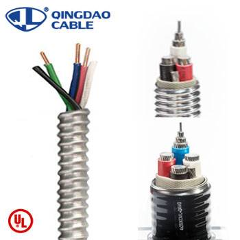 Discount Price Nm-b Cable Nm-b Wire - MC cable UL listed 1569 metal clad cable Type metal cable 600volts power cable copper conductor ALuminum Armor/thhn/thwn-2 – Cable