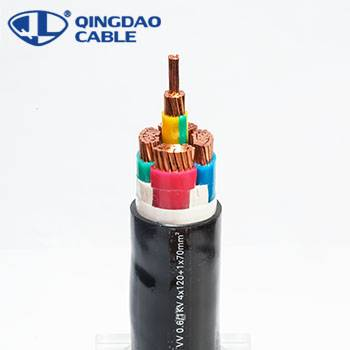 Big Discount Overshield Instrument Signal Cable - PVC insulated Power Cable wire fire resistant cable – Cable