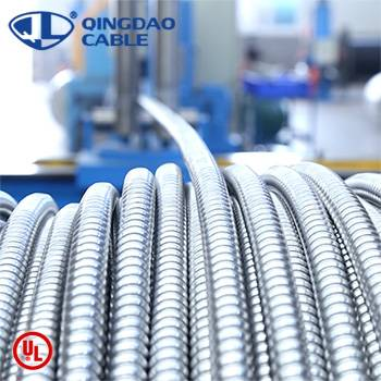 Leading Manufacturer for Cable Tray Technical Specification - MC cable UL listed 1569 metal clad cable Type metal cable 600volts power cable copper conductor ALuminum Armor/thhn/thwn-2 – Cable