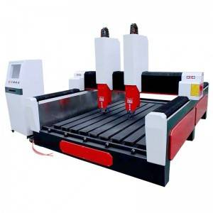 Price 1300*2500 Mm Tombstone Engraving Cutting Machine Woodworking 3d Cnc Router