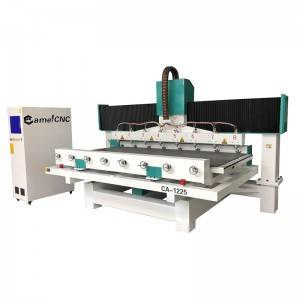 Factory wholesale Wood Stone Cnc Router - CA-1225 4 Axis Rotary CNC Router – Camel