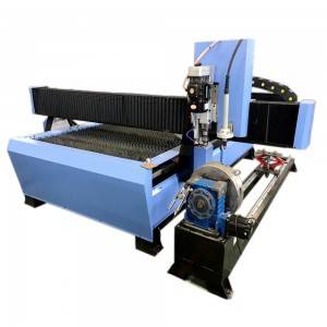 Factory wholesale Metal Plasma Flame Cutting Table -