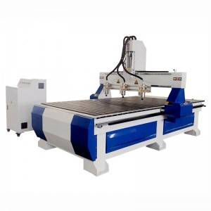 Manufacturer for Cnc Carving Machine 4 Axis 5 Axis - CA-1325 Multi-Head CNC Router – Camel