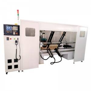 Discountable price Automatic Mini Wood Turning Lathe Cnc Woodworking Lathe Machine For Wooden Chair Copy