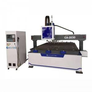 Trending Products Cnc Metal Router Machine - CA-2030 ATC&Oscillating knife combined CNC Router – Camel