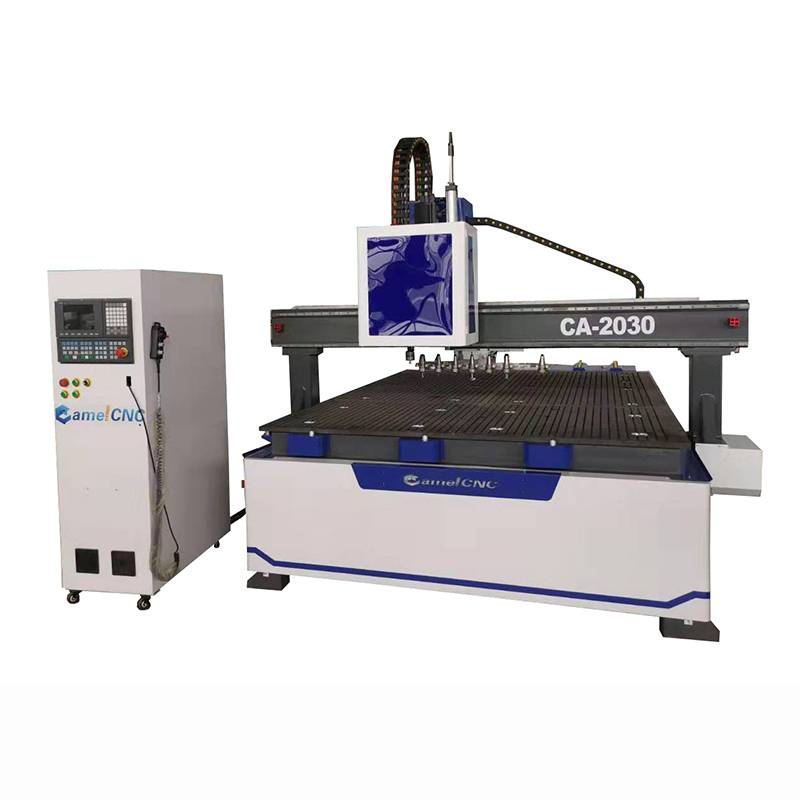 Chinese Professional Auto Wood Doors Making Cnc Machine -