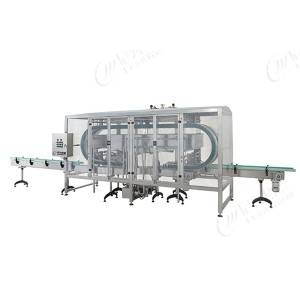 clamping type bottle washer