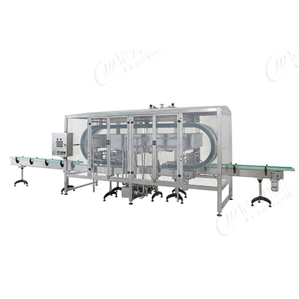 Personlized Products Machine For Orange Juice - clamping type bottle washer – Leadworld Machinery