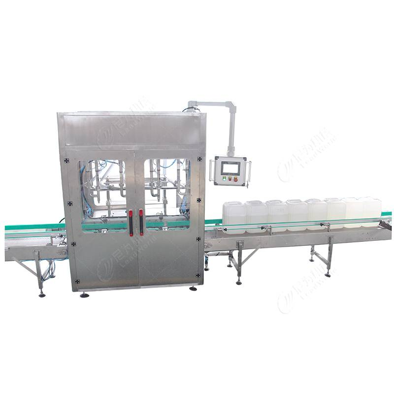 Factory wholesale Canned Beans Machine - automatic jerrycans weighing and filling machine – Leadworld Machinery