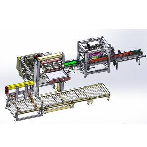 OEM China Soda Filling Machine /cola Production Line - Carton packing system – Leadworld Machinery