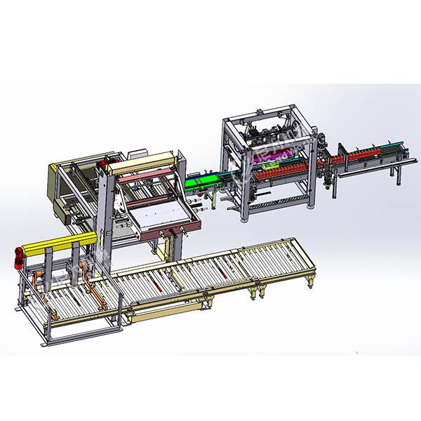 Factory Cheap Chocolate Filling Machine - Carton packing system – Leadworld Machinery
