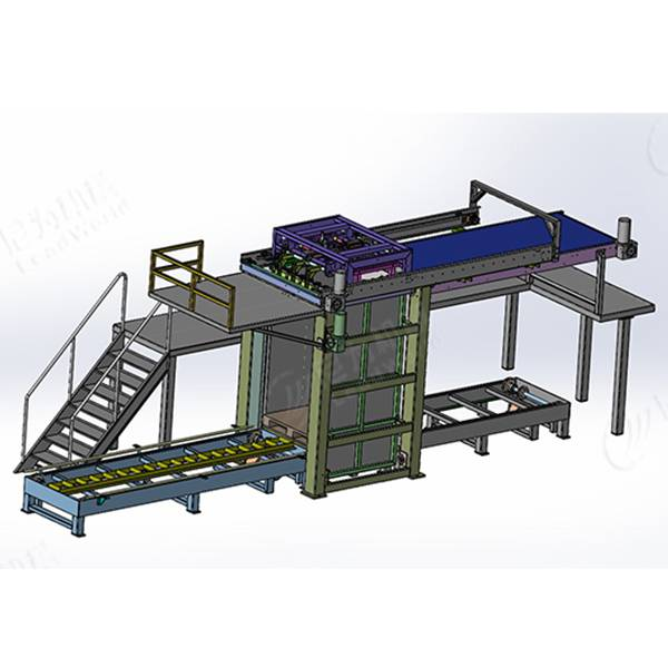 Top Suppliers Small Juice Production Line - Empty bottle depalletizer – Leadworld Machinery