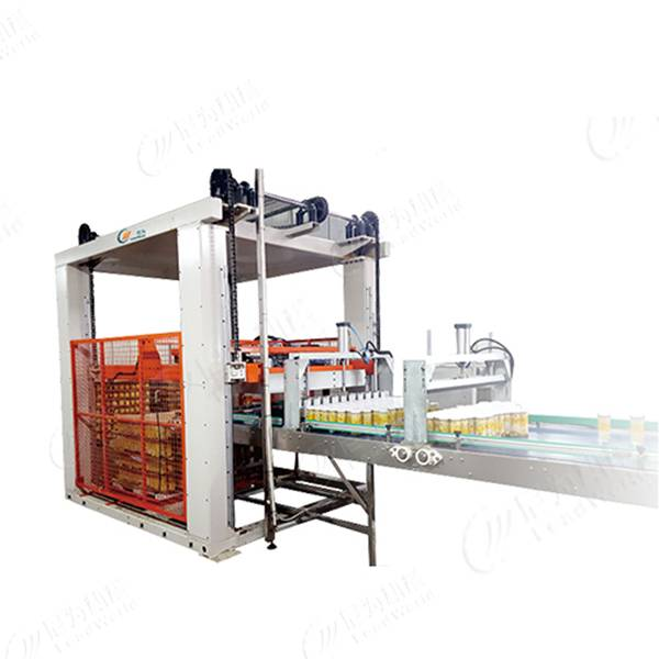 China Manufacturer for Industrial Orange Juicer Machine - Filled cans palletizer – Leadworld Machinery